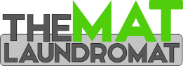 The Mat Laundromat Logo